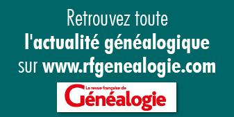 Site de la Revue Française de Généalogie